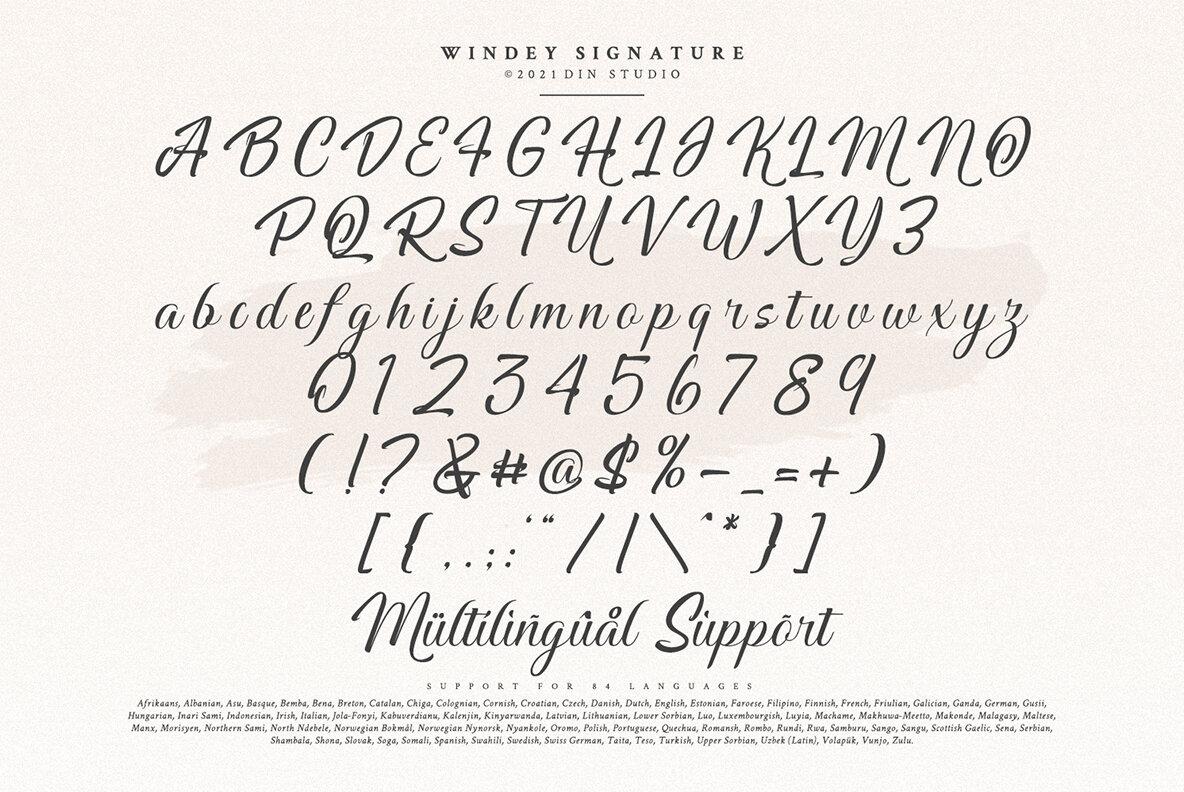 Windey Signature