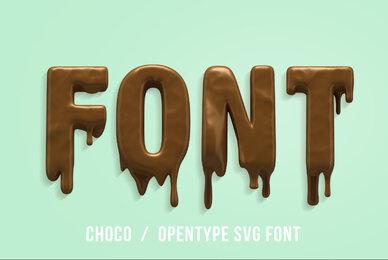 Choco SVG Font