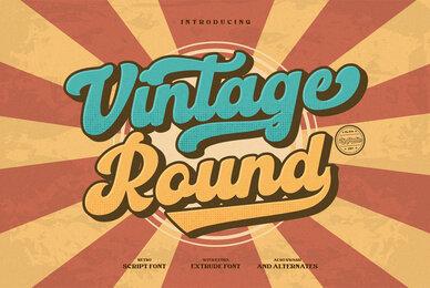 Vintage Round