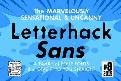 Letterhack Sans