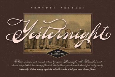 Yesternight