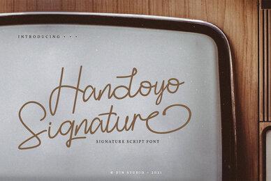 Handoyo Signature