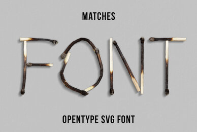 Matches SVG Font