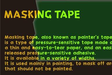 HU Masking Tape