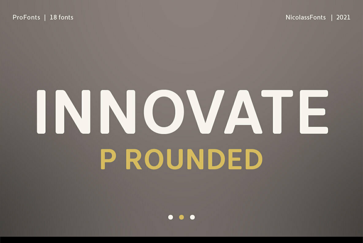 Innovate P Rounded