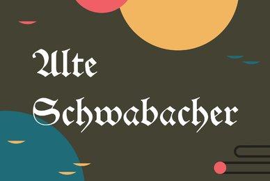 Alte Schwabacher