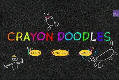 HU Crayon Doodles