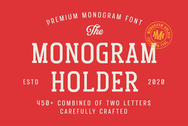 Monogram Holder