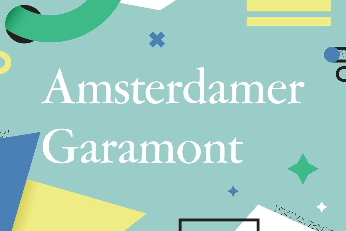 Amsterdamer Garamont