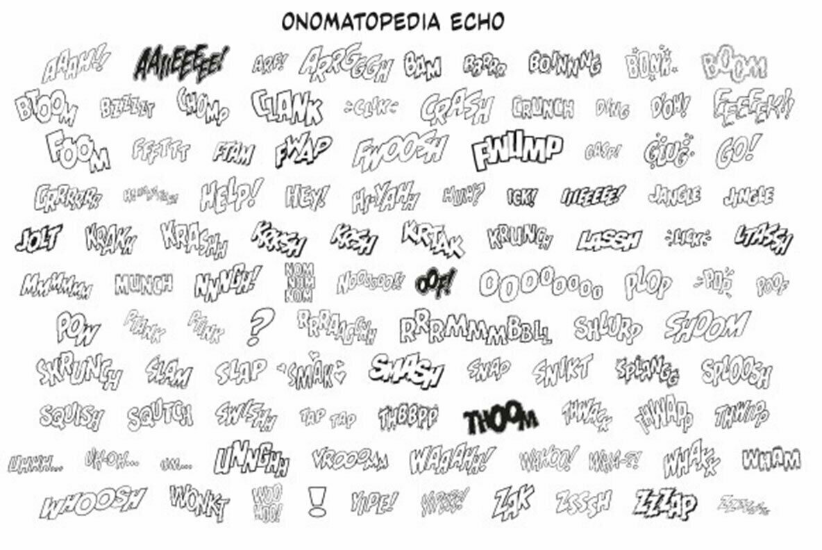 Onomatopedia