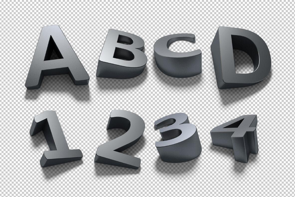 Shadow SVG Font