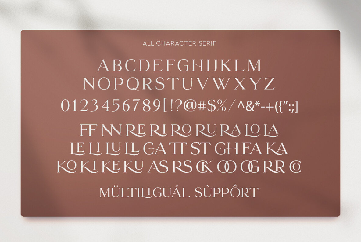 Le Mores Collection Font Duo