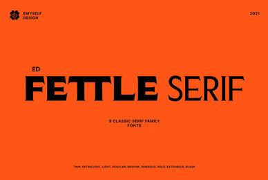 ED Fettle Serif