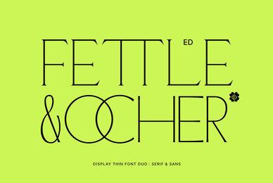 ED Fettle and Ocher