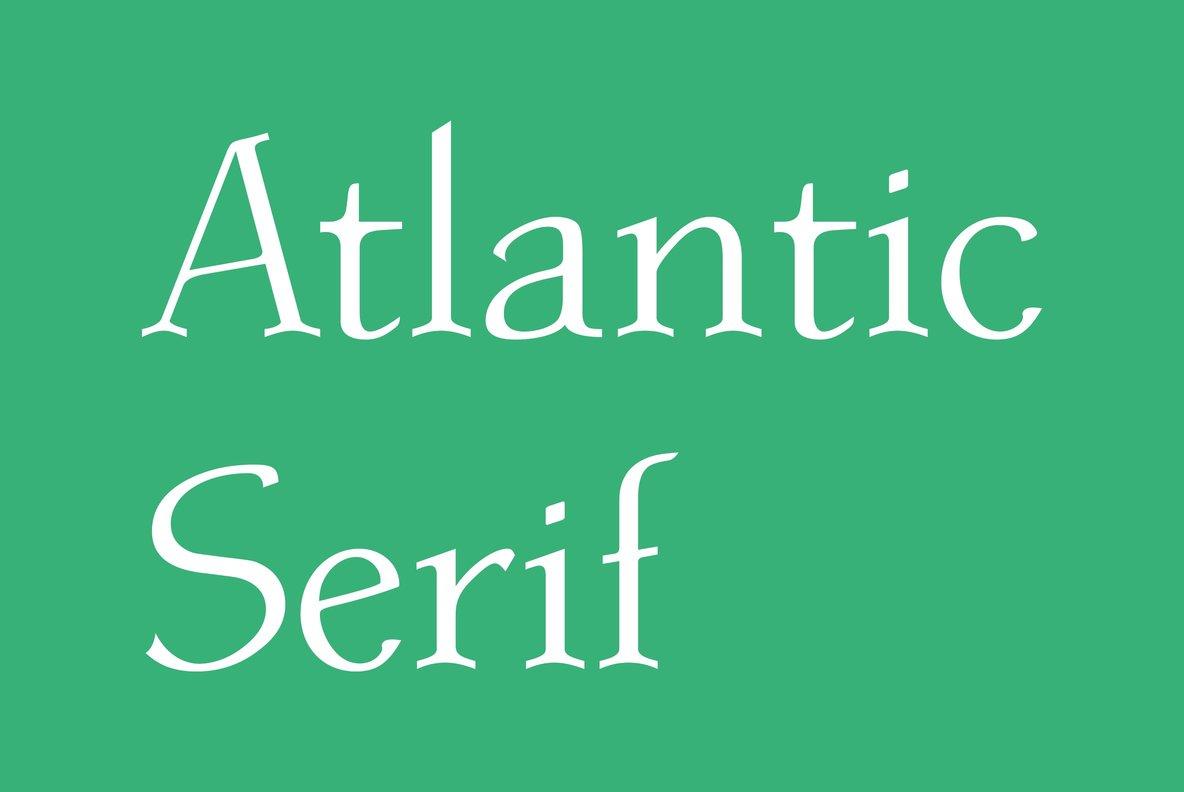 Atlantic Serif