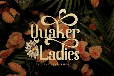 Quaker Ladies