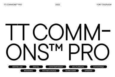 TT Commons Pro
