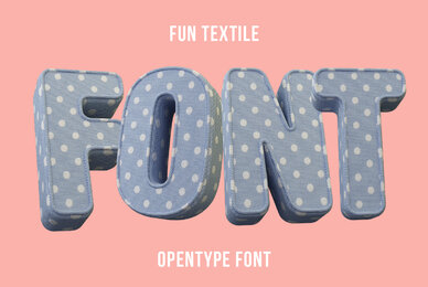 Fun Textile SVG Font
