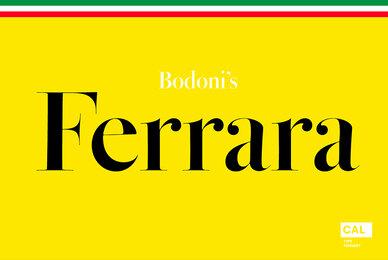 Bodoni Ferrara