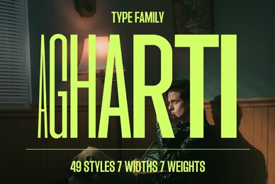 Agharti Font Family