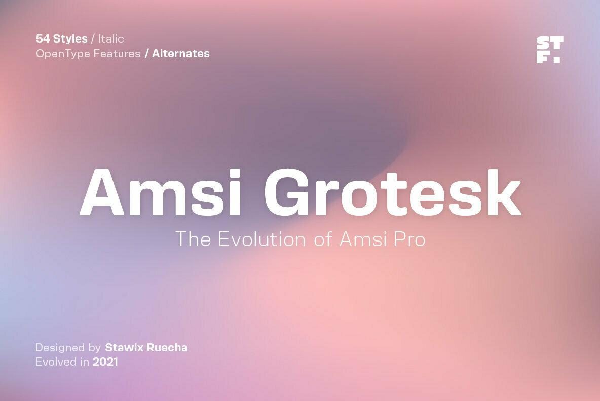 Amsi Grotesk
