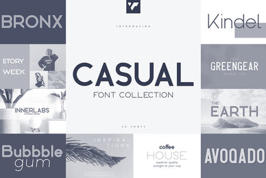 Casual Font Collection