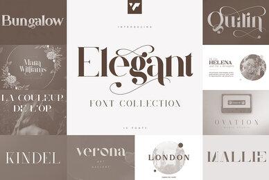 Elegant Font Collection