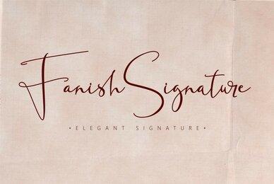 Fanish Signature