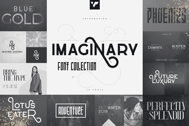 Imaginary Font Collection