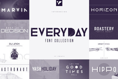 Everyday Font Collection