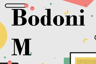 Bodoni M