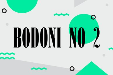 Bodoni No 2