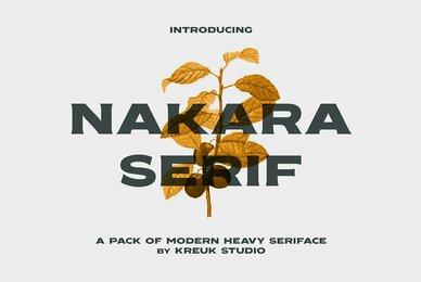 Nakara Serif