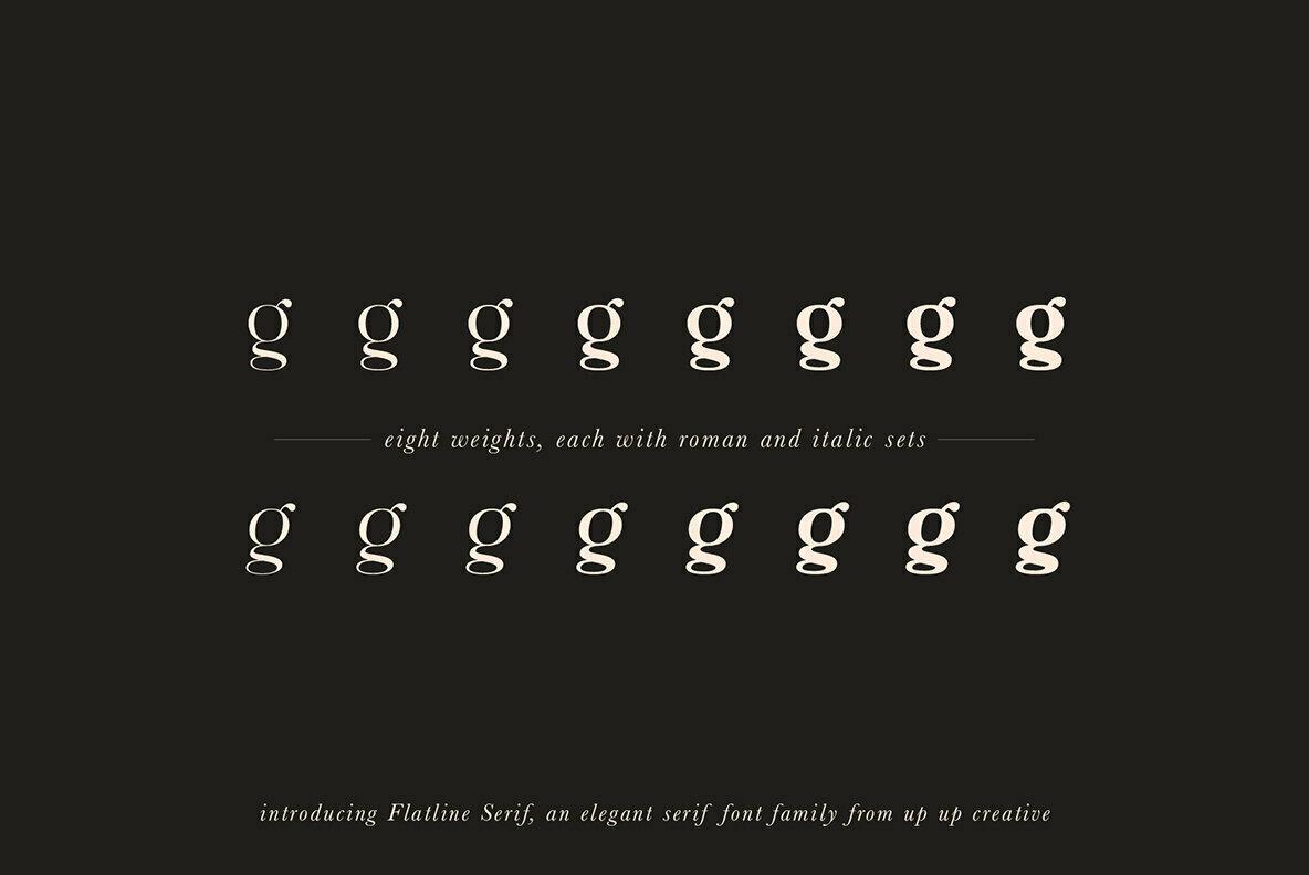 Flatline Serif