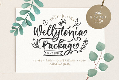 Wellytonia Package Font Trio