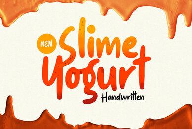 Slime Yogurt