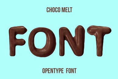 Choco Melt SVG Font