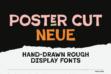 Poster Cut Neue