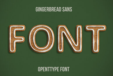 Gingerbread Sans