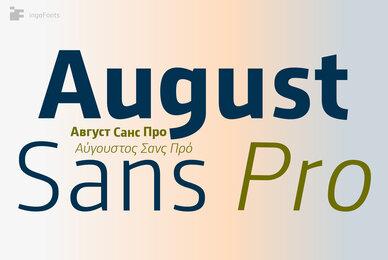 August Sans Pro