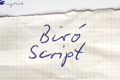 Biro Script Plus