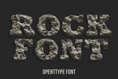 Rock SVG Font