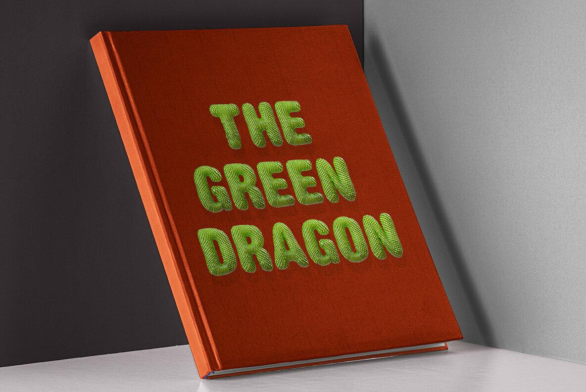 Dragonskin SVG Font