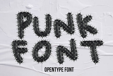 Punk SVG Font