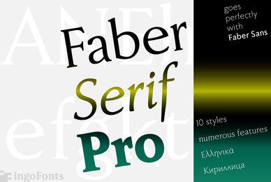 Faber Serif Pro