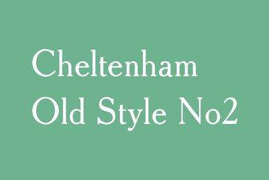 Cheltenham Old Style No 2
