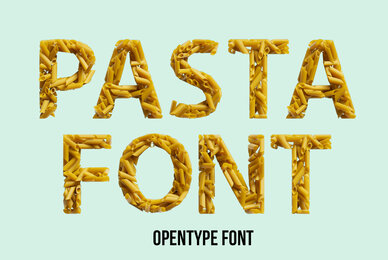 Pasta Type SVG Font