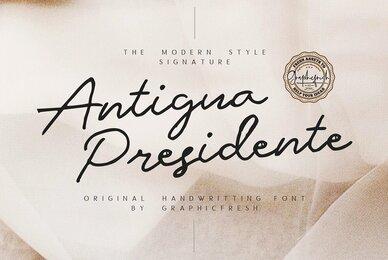 Antigua Presidente