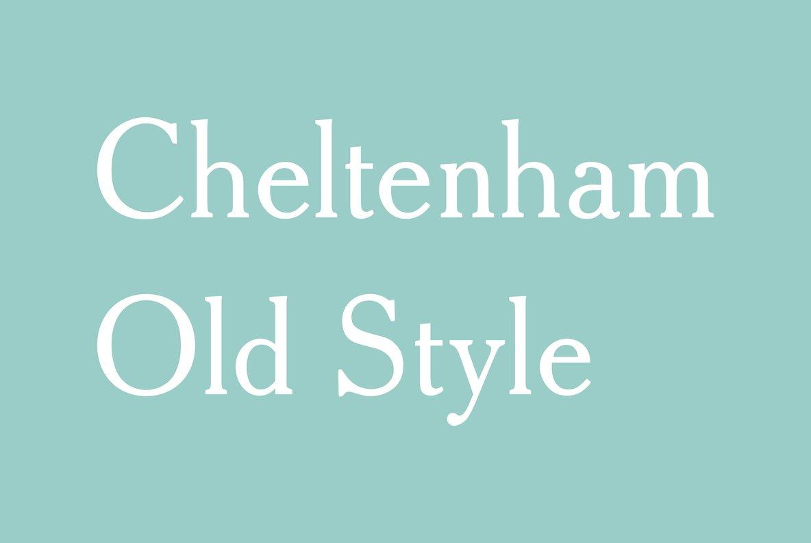 Cheltenham Old Style