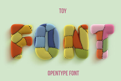 Toy SVG Font